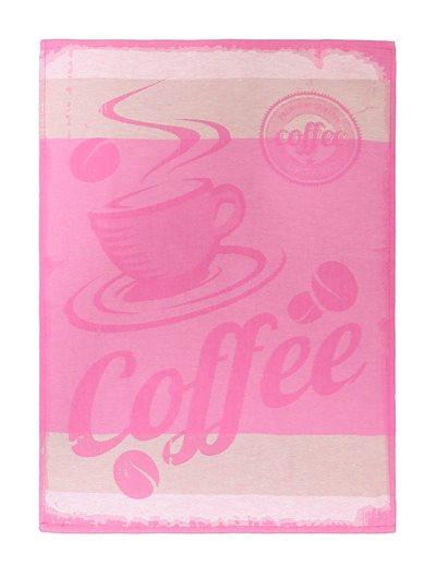 Paño cocina Miss Coffee sarga