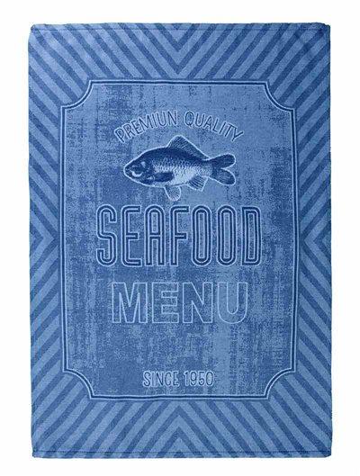 Paño cocina Seafood sarga