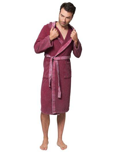 Albornoz con capucha Zeta Sauna