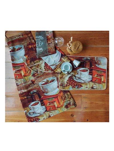 Paño cocina Premium Coffee Sarga